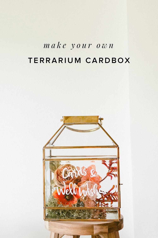 Make A Conversation Piece With This Modern Terrarium Card Box Ruffled