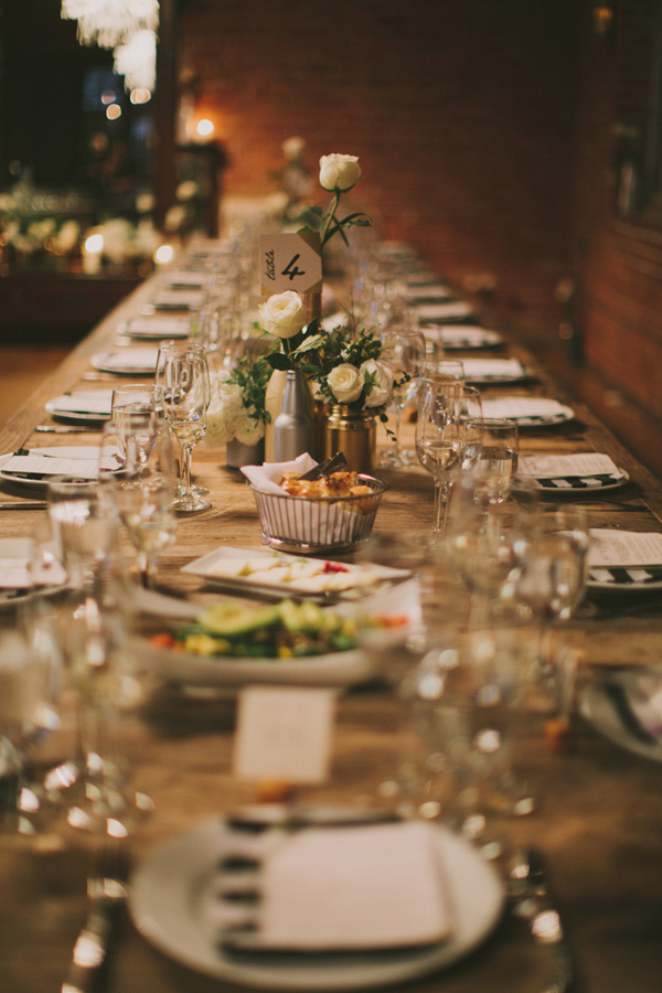 Amazing Dinner Party Wedding Part - 5: Carondelet House Dinner Party Wedding