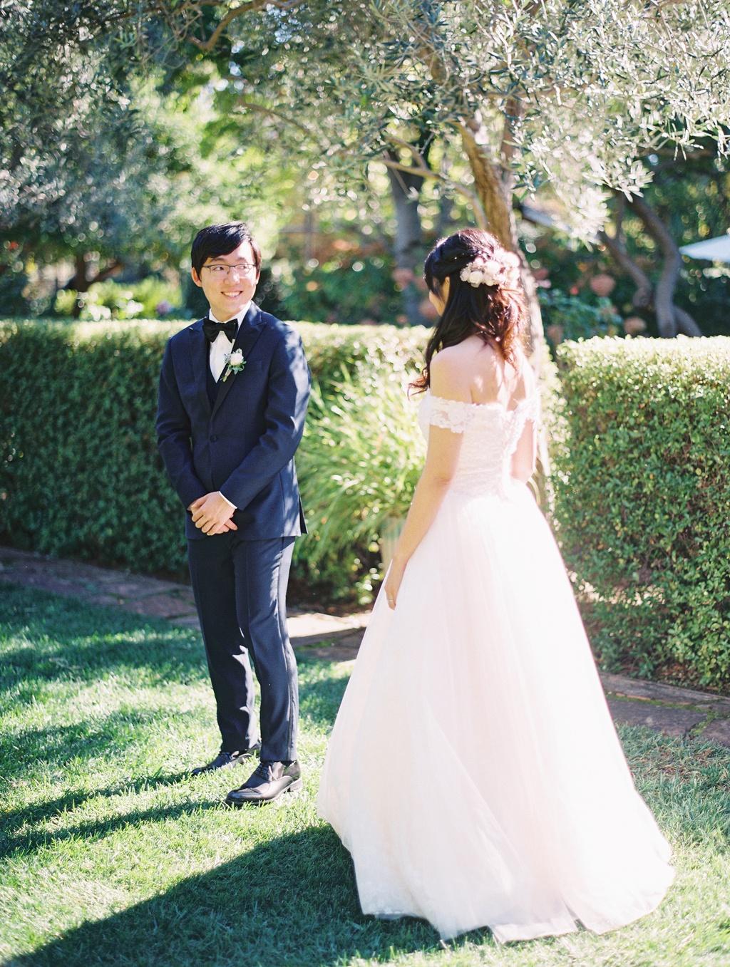 Charming Garden Wedding At Allied Arts Guild 12