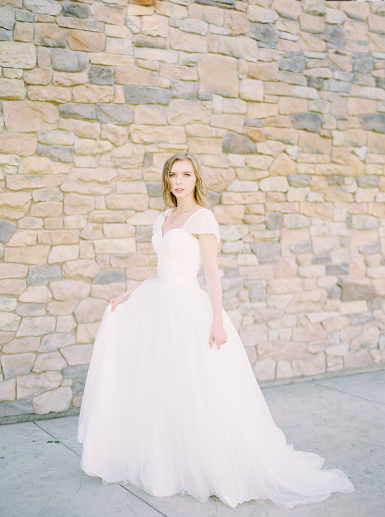 romantic bridal inspiration - photo by This Love of Yours Photography http://ruffledblog.com/charming-wedding-inspiration-with-a-lush-floral-arch
