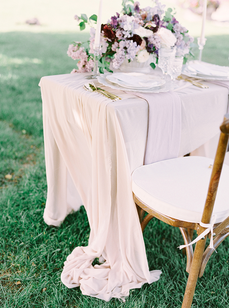 romantic light pink weddings - photo by This Love of Yours Photography http://ruffledblog.com/charming-wedding-inspiration-with-a-lush-floral-arch