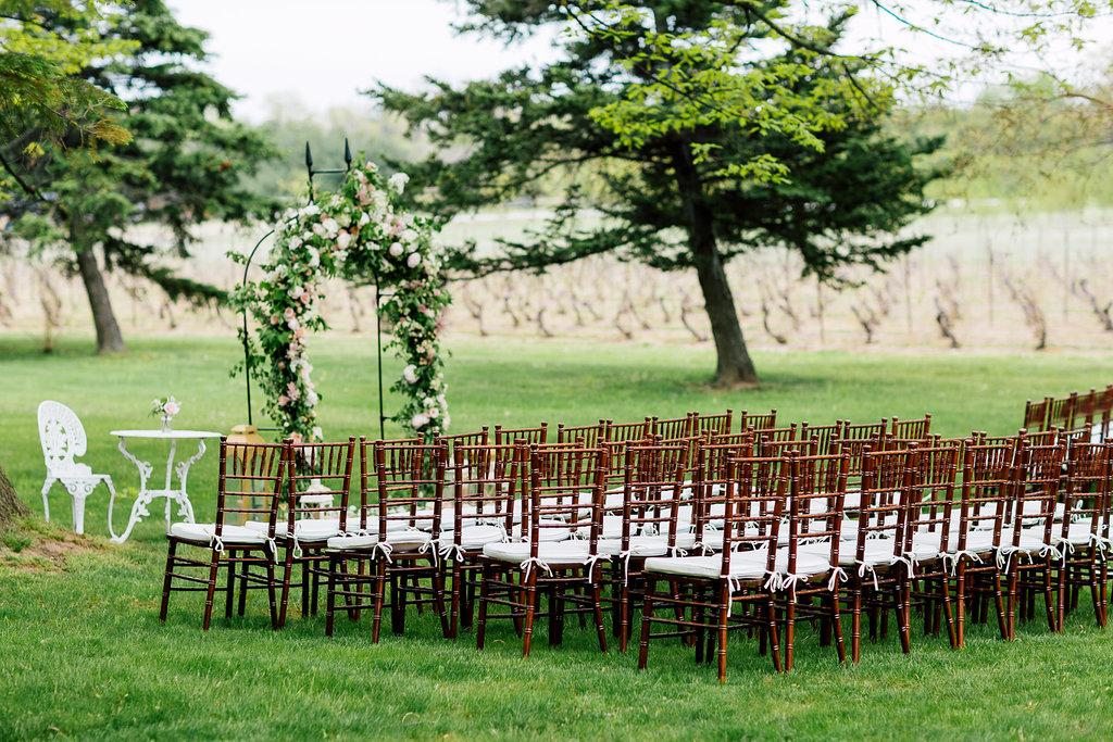 wedding ceremonies - photo by Purple Tree Photography https://ruffledblog.com/charming-wine-country-wedding-at-kurtz-orchard