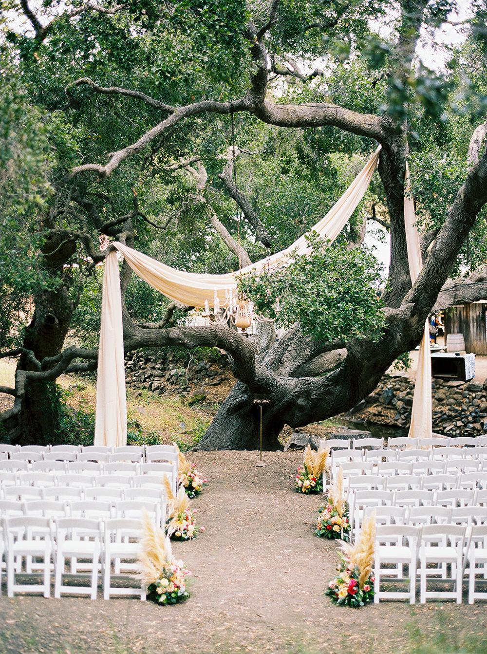 Wedding Ceremony Setup Photo By Jen Rodriguez Https Ruffledblog Cheerful San Luis Obispo