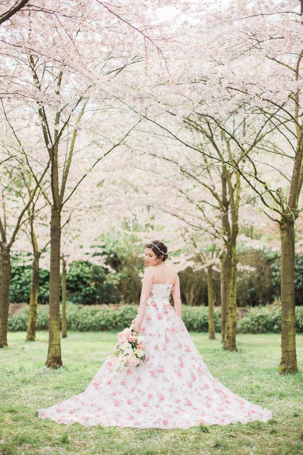 Cherry Blossom Wedding Ideas Photo By Elisabeth Van Lent Photography Https Ruffledblog