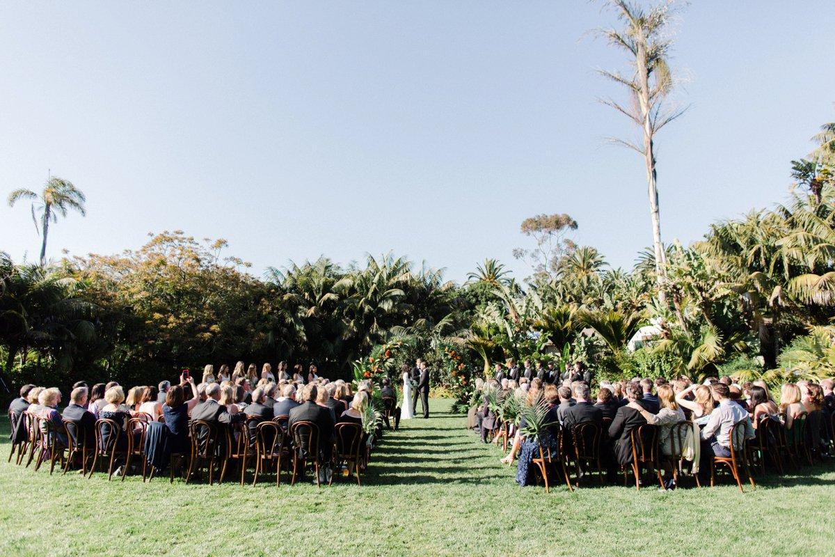 wedding ceremonies - photo by Anna Delores http://ruffledblog.com/chic-modern-wedding-at-four-seasons-santa-barbara