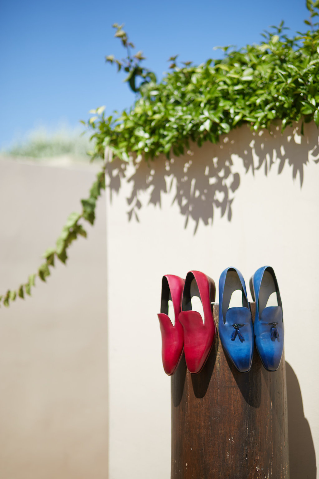 groom wedding shoes - photo by Sotiris Tsakanikas http://ruffledblog.com/chic-sunset-wedding-on-the-athens-riviera