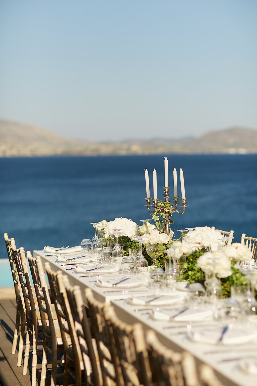 organic wedding inspiration in Greece - photo by Sotiris Tsakanikas https://ruffledblog.com/chic-sunset-wedding-on-the-athens-riviera