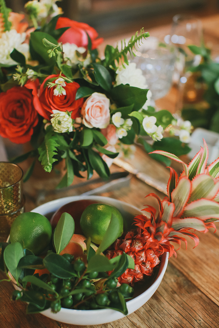weddings with fruit - photo by Kassia Phoy https://ruffledblog.com/citrus-hued-whimsical-wedding-with-paper-details