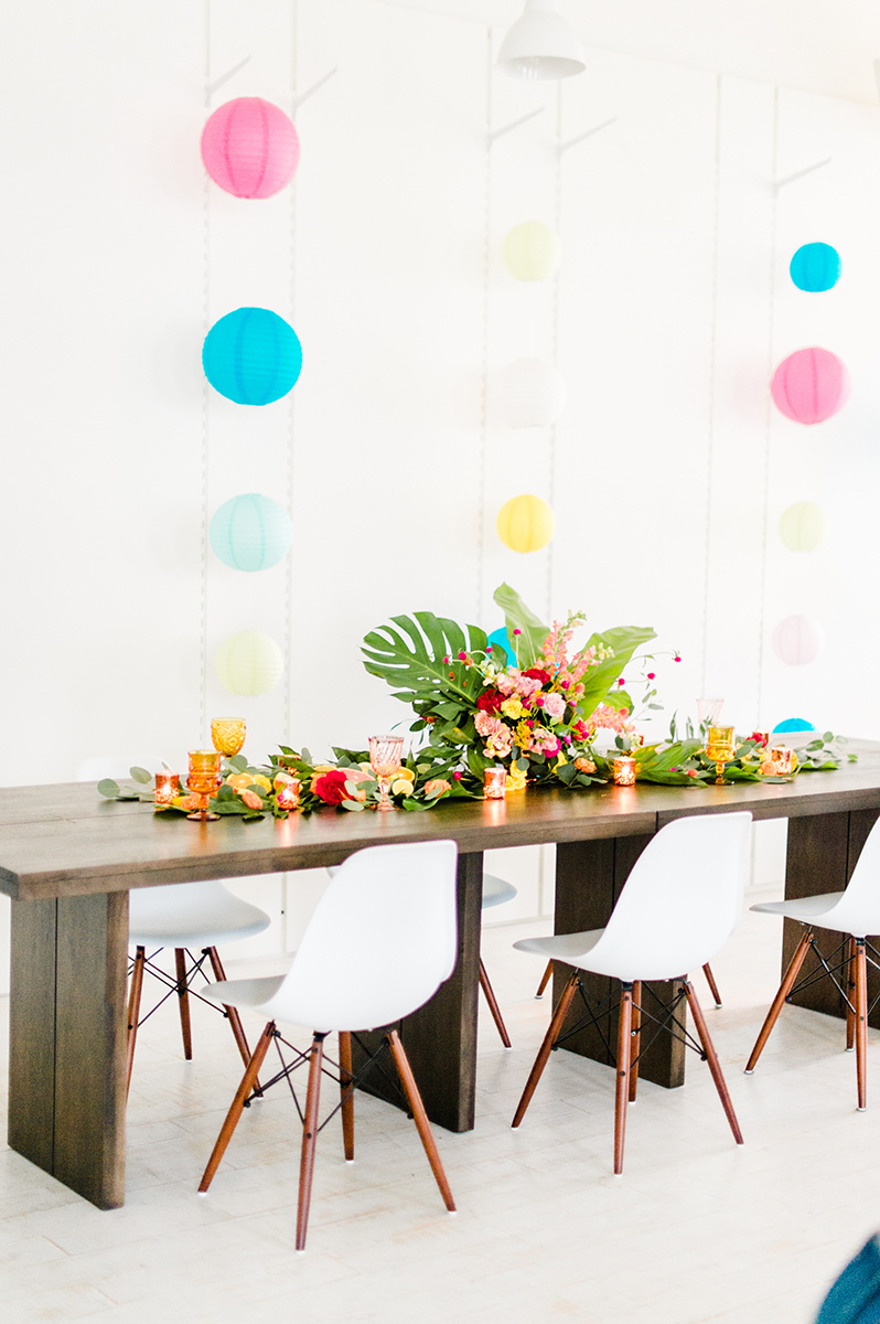 Citrus + Sunshine Bachelorette Party Inspiration - photo by Madison Short Photography https://ruffledblog.com/citrus-sunshine-bachelorette-party-inspiration