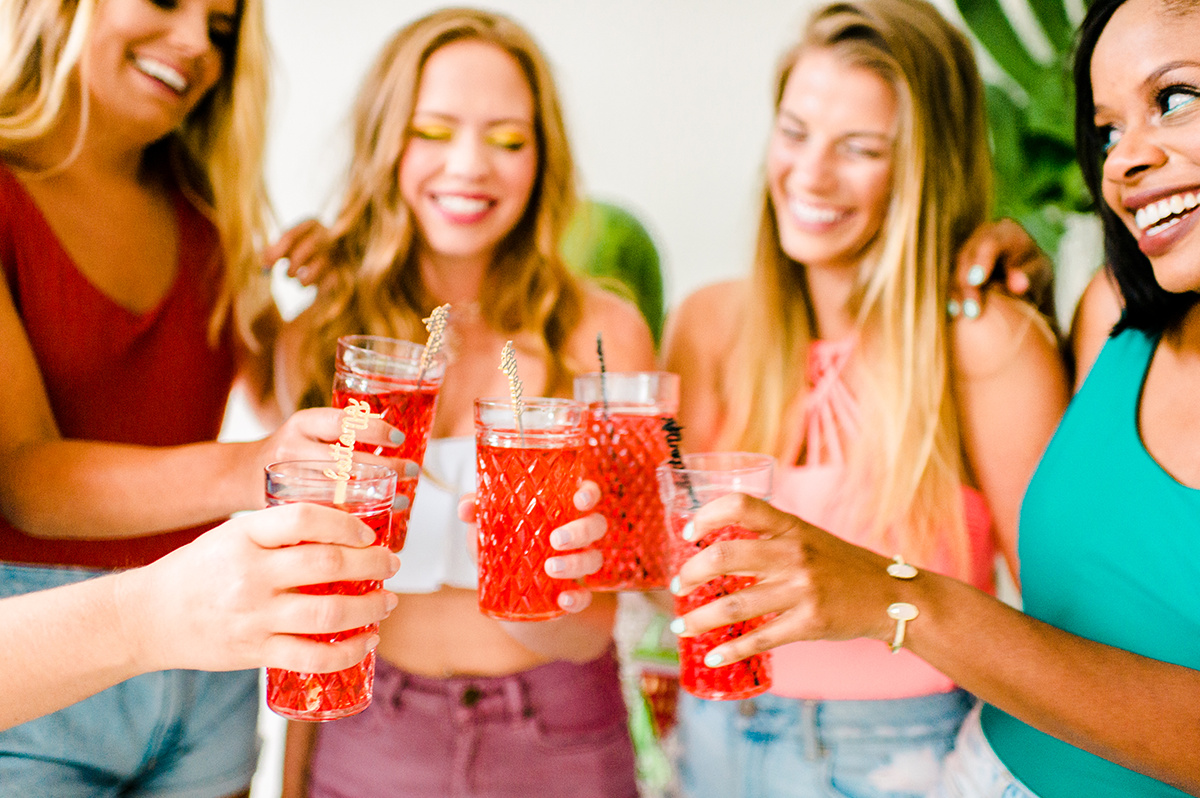 bachelorette party ideas - photo by Madison Short Photography https://ruffledblog.com/citrus-sunshine-bachelorette-party-inspiration