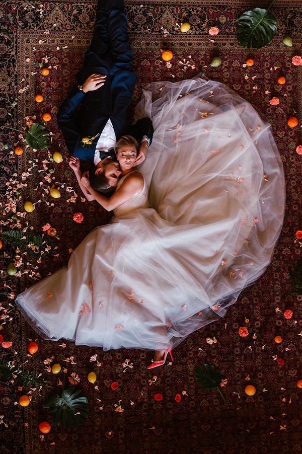 Citrus Wedding Inspo with a Modern LA Twist
