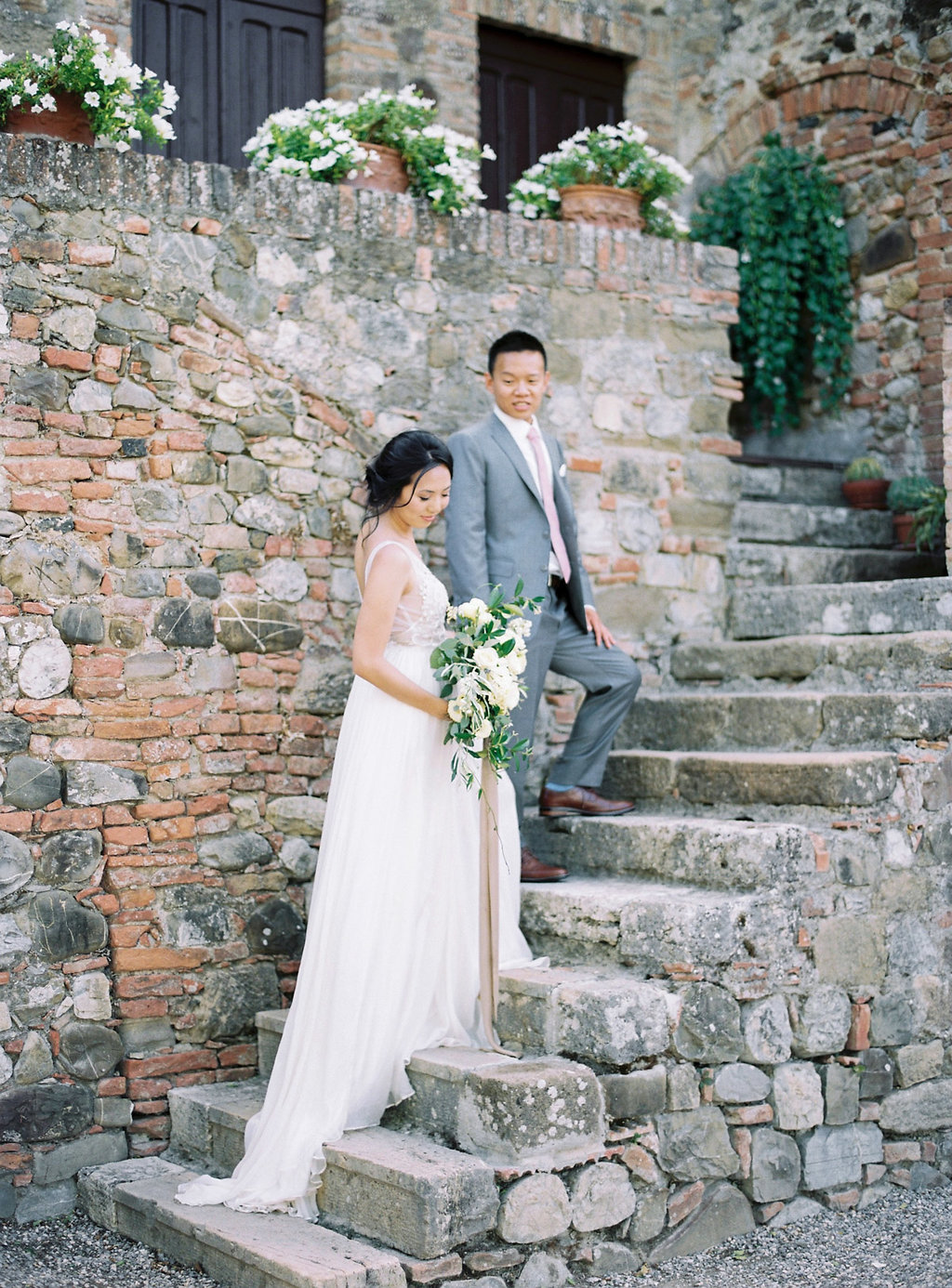 Classically Beautiful + Intimate Wedding in Tuscany - photo by Katie Grant Photography https://ruffledblog.com/classically-beautiful-intimate-wedding-in-tuscany