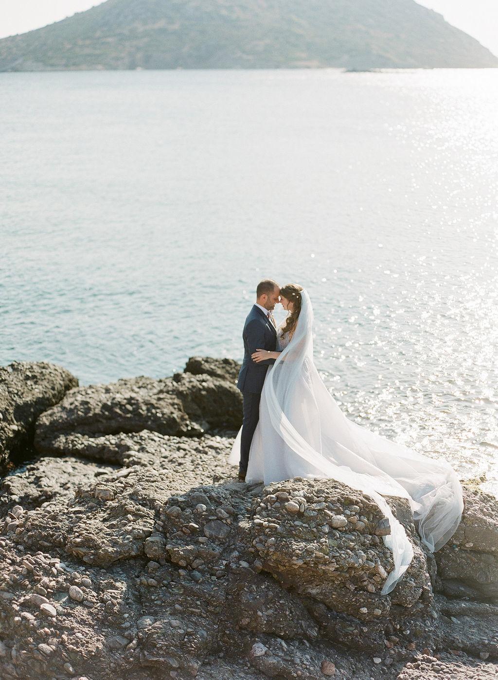 Coastal Fern Inspired Wedding in Athens