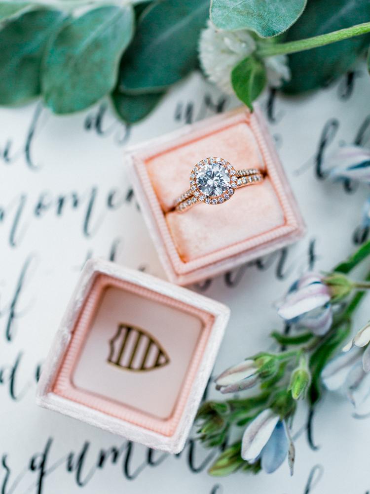 Copper + Blue Rancho Las Lomas Wedding Inspiration - photo by Dennis Roy Coronel https://ruffledblog.com/copper-blue-rancho-las-lomas-wedding-inspiration