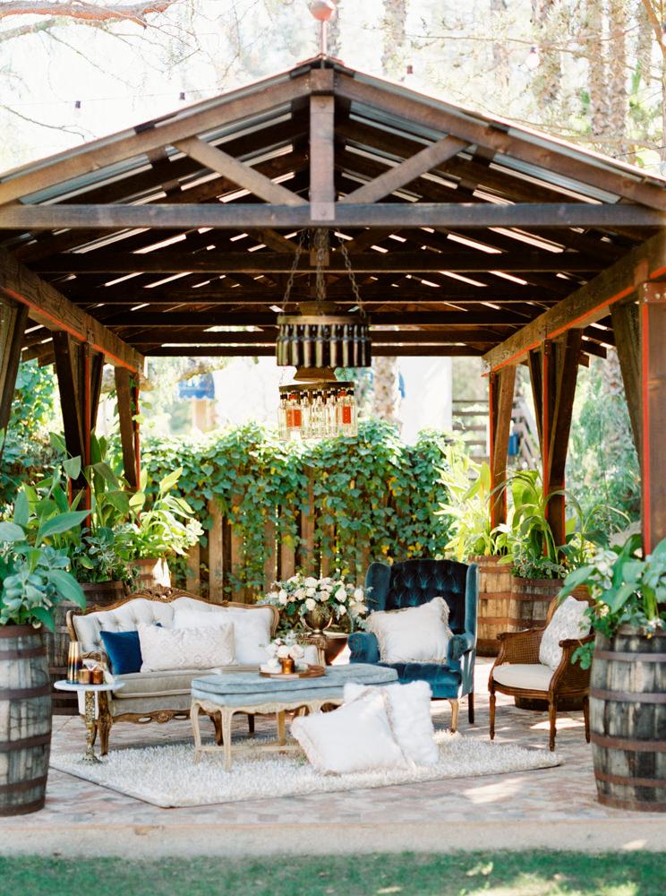 romantic wedding venues - photo by Dennis Roy Coronel http://ruffledblog.com/copper-blue-rancho-las-lomas-wedding-inspiration
