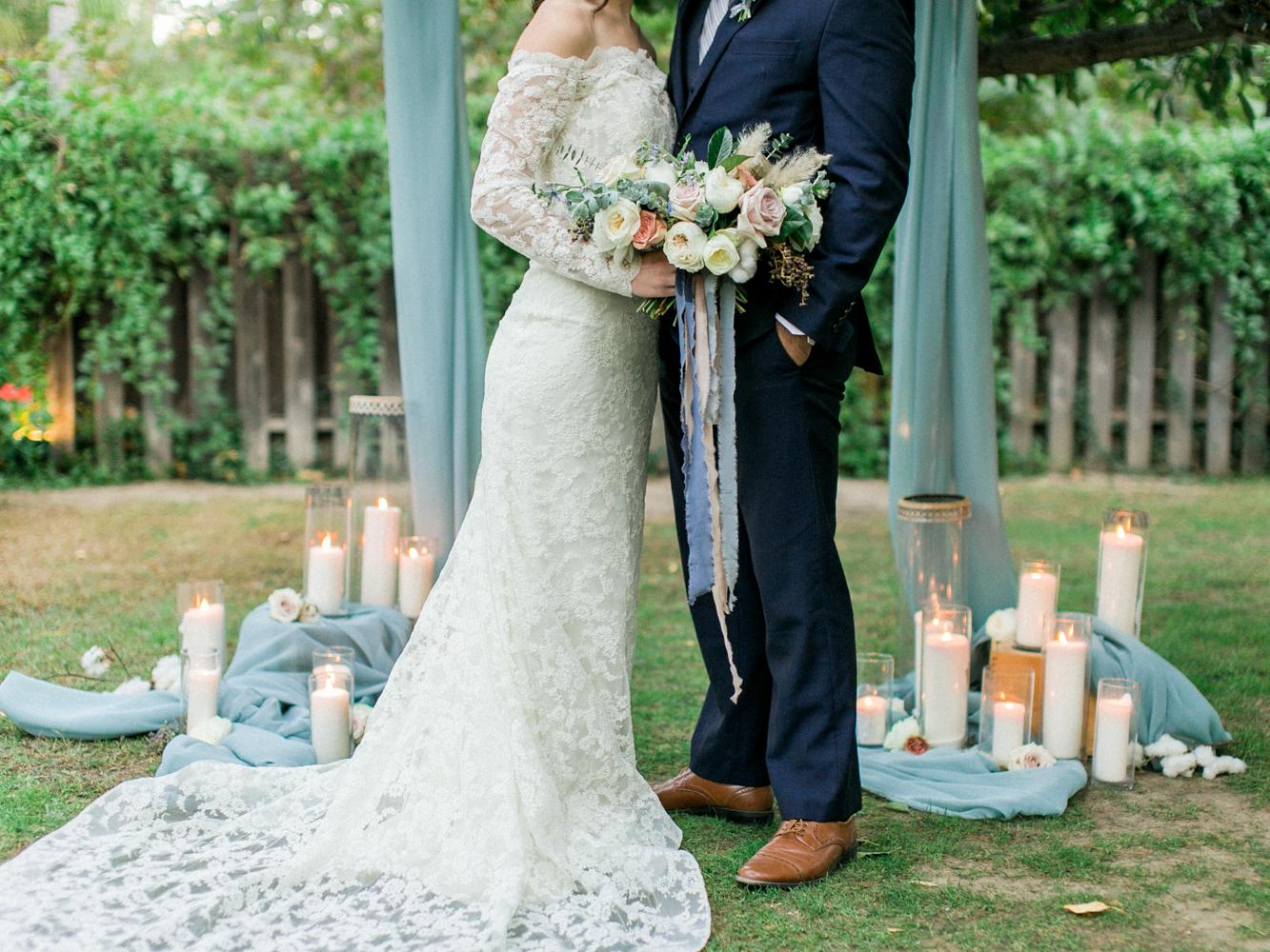 wedding ideas - photo by Dennis Roy Coronel http://ruffledblog.com/copper-blue-rancho-las-lomas-wedding-inspiration