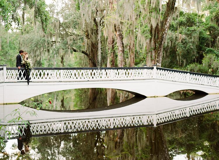 southern plantation weddings - http://ruffledblog.com/dark-and-stormy-magnolia-plantation-wedding-inspiration