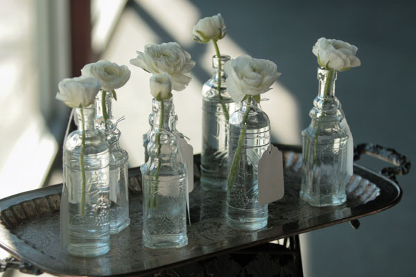 decorative glass bottles ruffled - Decorative Glass Jars