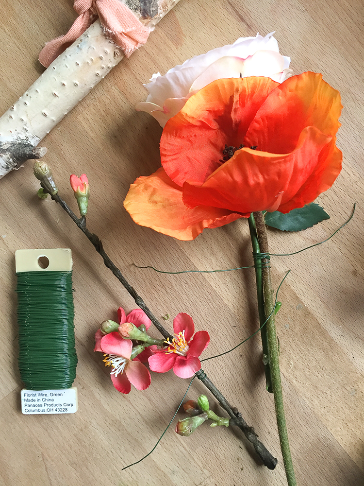 DIY Floral Bough