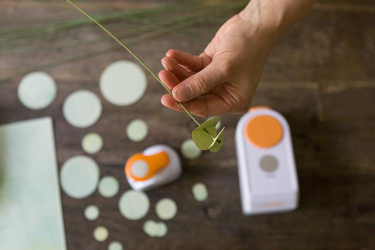 DIY Paper Eucalyptus  Garland