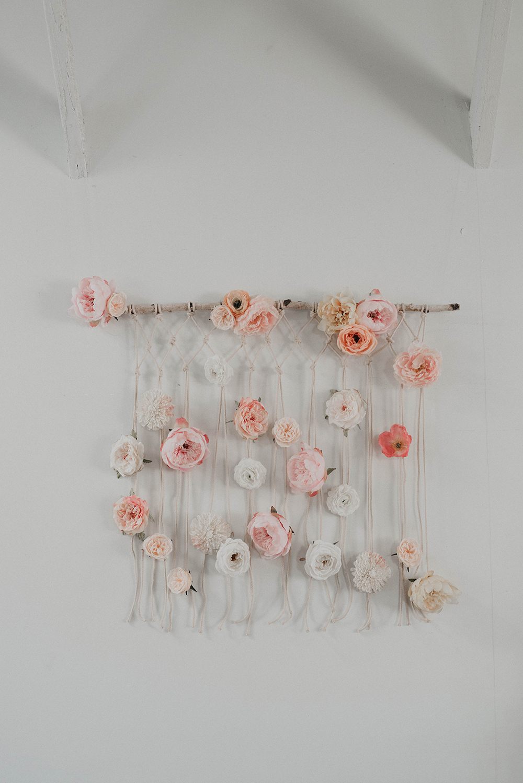 DIY Easy Macramé Wall Hanging, 2 Different Ways - photo Jess Pelphrey  https://ruffledblog.com/diy-boho-wall-hanging/