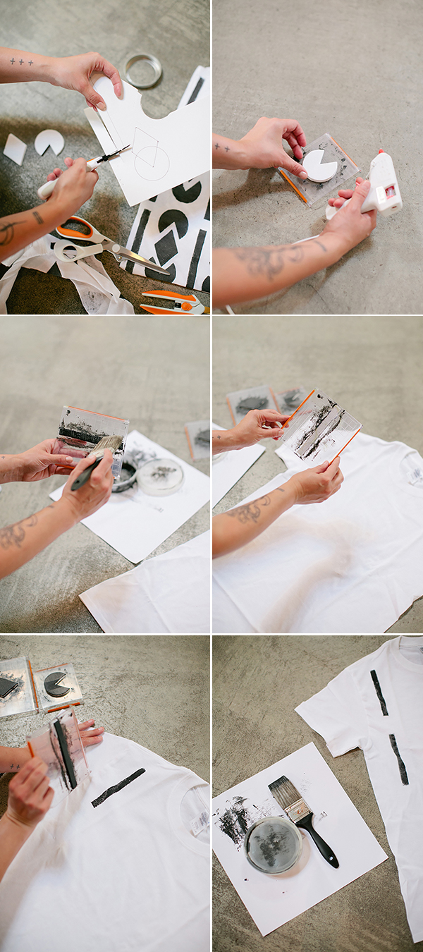 make your own tote bags using tshirts!