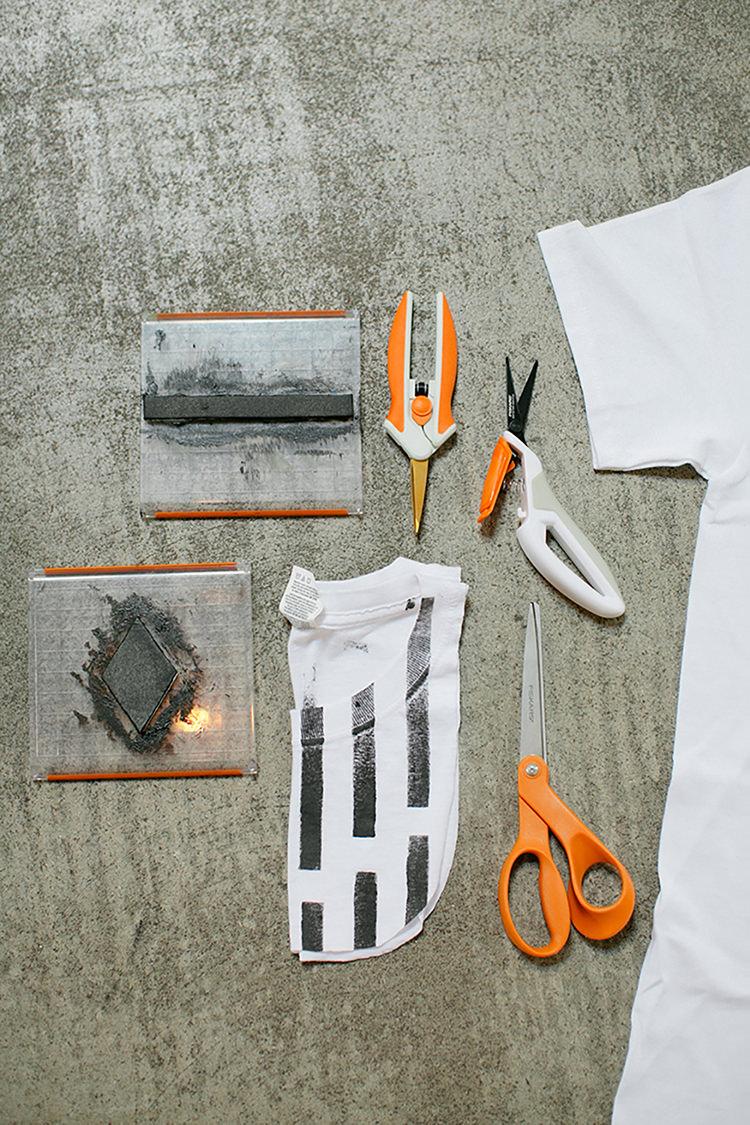 DIY tshirt tote bags