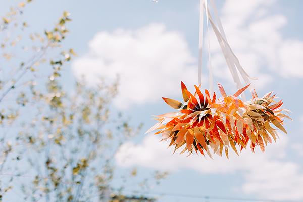 Plastic Bottle Floral Wreath DIY