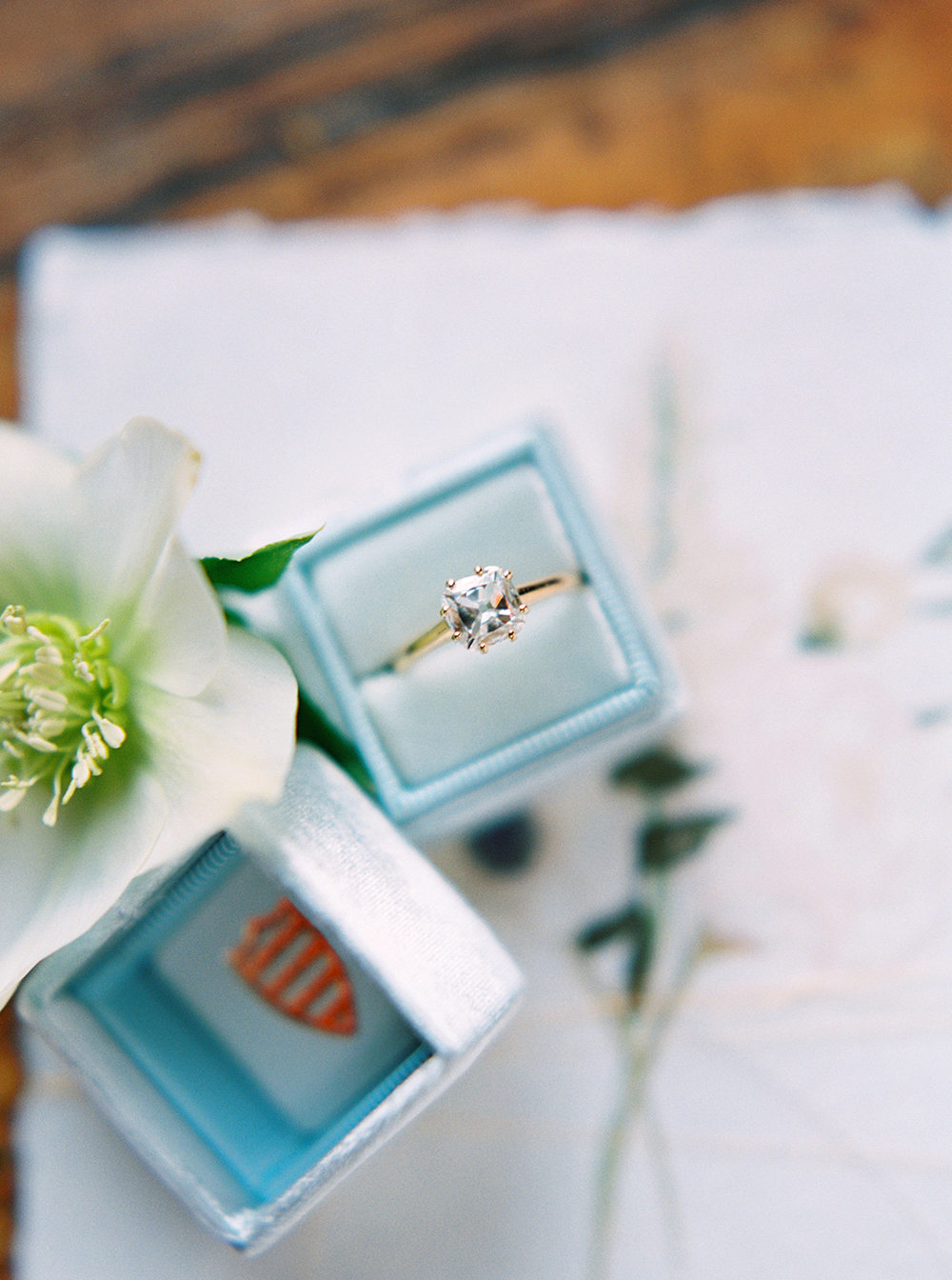 engagement rings - photo by Photos by Heart https://ruffledblog.com/downtown-birmingham-spring-wedding-inspiration