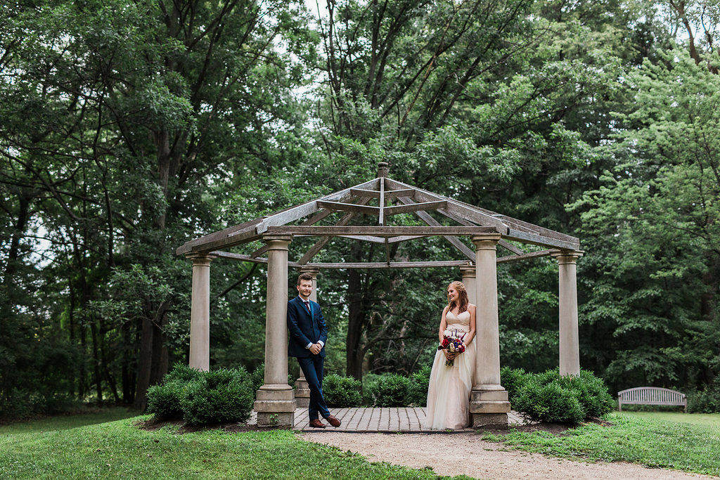 wedding inspiration - photo by Katie Ricard Photography http://ruffledblog.com/dramatic-woodland-wedding-inspiration-with-burgundy-accents