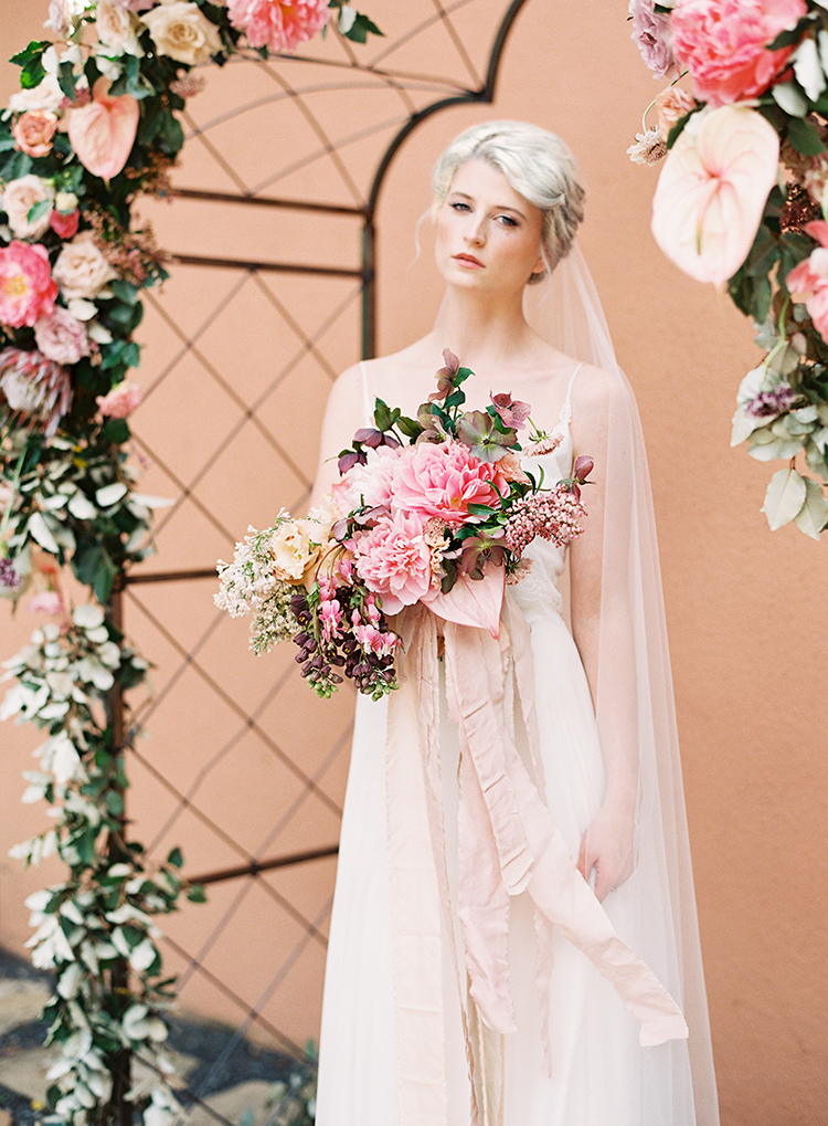bridal inspiration shoot - photo by Kayla Barker Fine Art Photography https://ruffledblog.com/dreamy-tuscan-inspired-wedding-ideas-with-terracotta