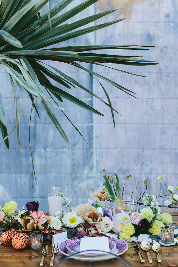 tropical inspired wedding ideas - photo by Angela Zion Photography https://ruffledblog.com/dusty-toned-wedding-ideas-inspired-by-the-baltic-sea