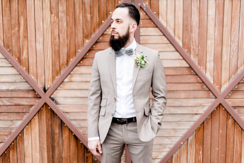 groom style - photo by Haley Richter Photo http://ruffledblog.com/east-meets-west-romantic-wedding-inspiration