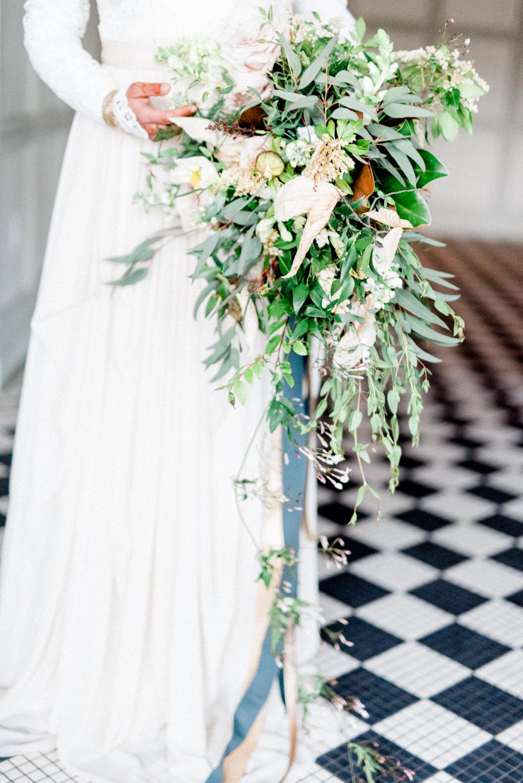lush wedding bouquets - photo by Haley Richter Photo http://ruffledblog.com/east-meets-west-romantic-wedding-inspiration