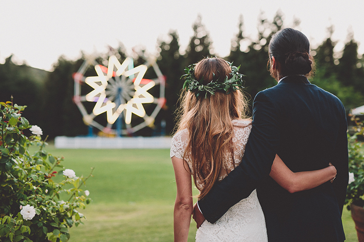 Calamigos Ranch weddings - photo by Gina and Ryan Photography http://ruffledblog.com/eclectic-bohemian-wedding-at-calamigos-ranch