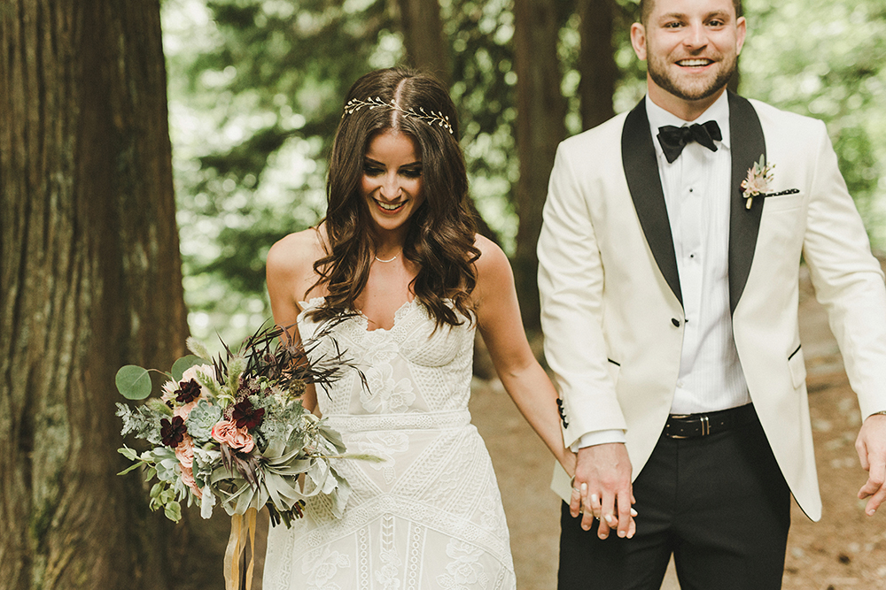 Eclectic Wedding Gown