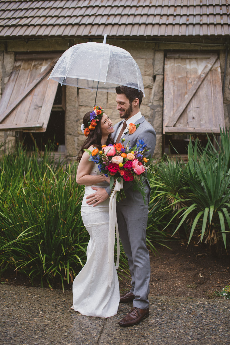 Eclectic Rainy Day Wedding with Moroccan Accents - https://ruffledblog.com/eclectic-rainy-day-wedding-with-moroccan-accents