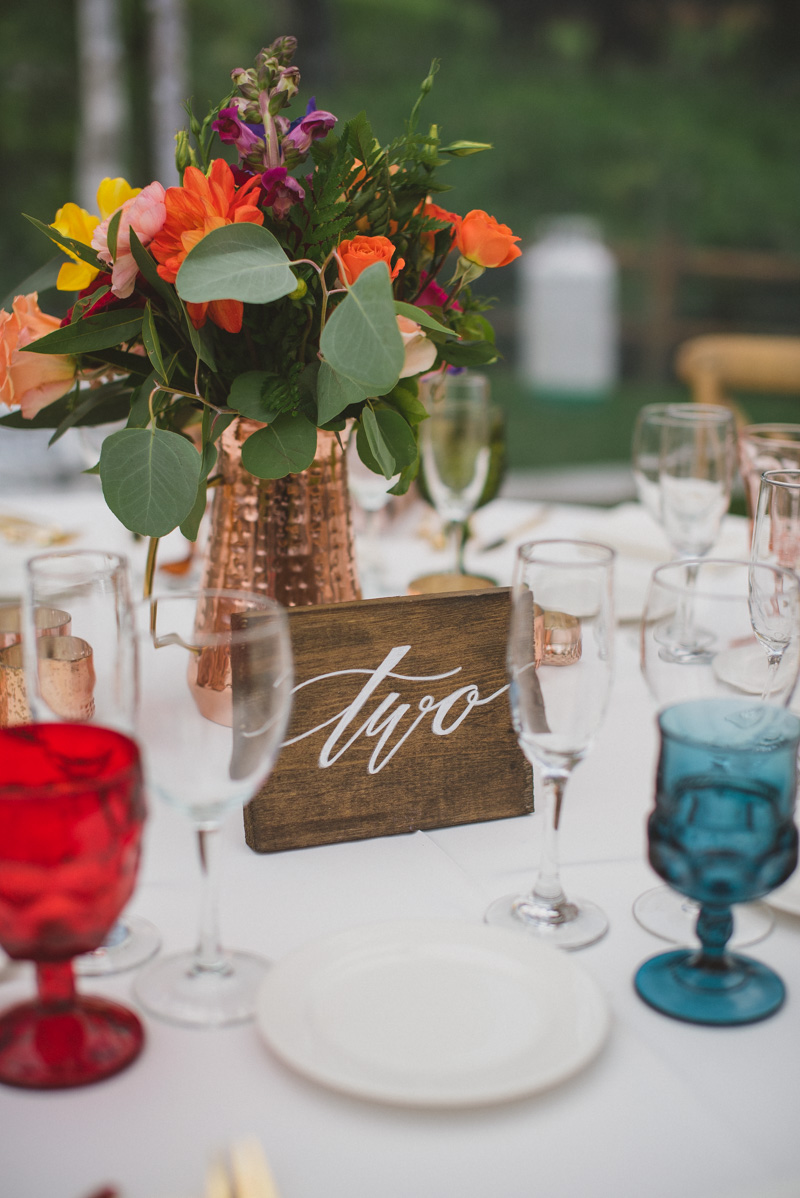 rustic colorful wedding inspiration - https://ruffledblog.com/eclectic-rainy-day-wedding-with-moroccan-accents