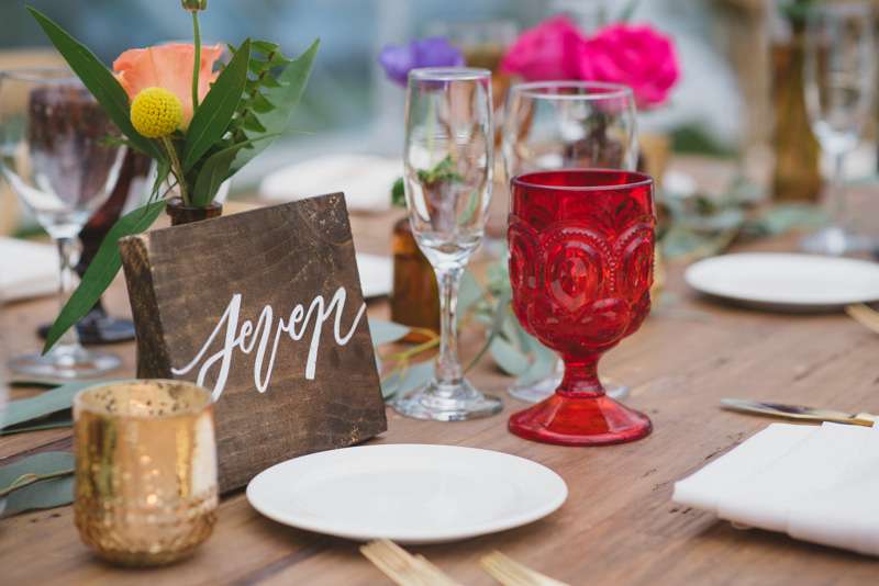 colorful wedding inspiration - https://ruffledblog.com/eclectic-rainy-day-wedding-with-moroccan-accents