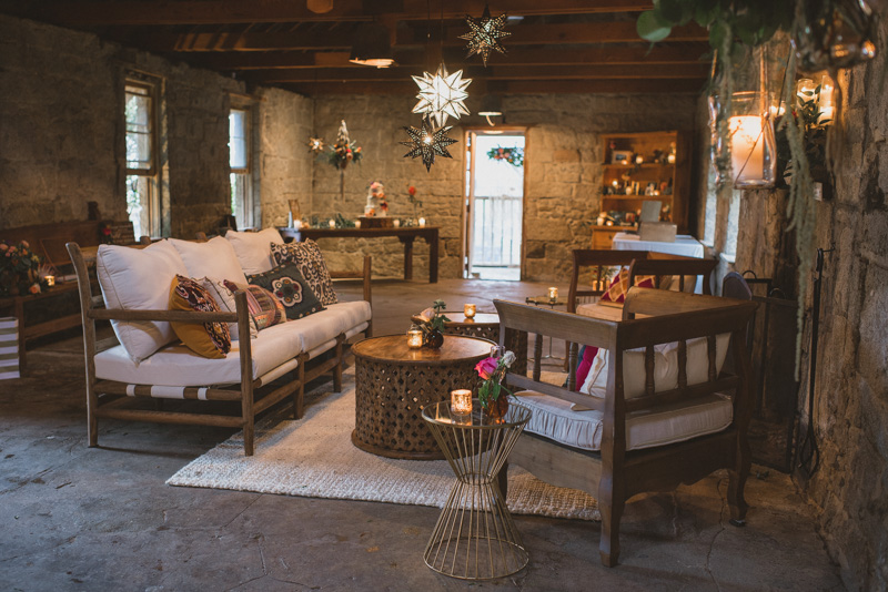 wedding lounges - https://ruffledblog.com/eclectic-rainy-day-wedding-with-moroccan-accents