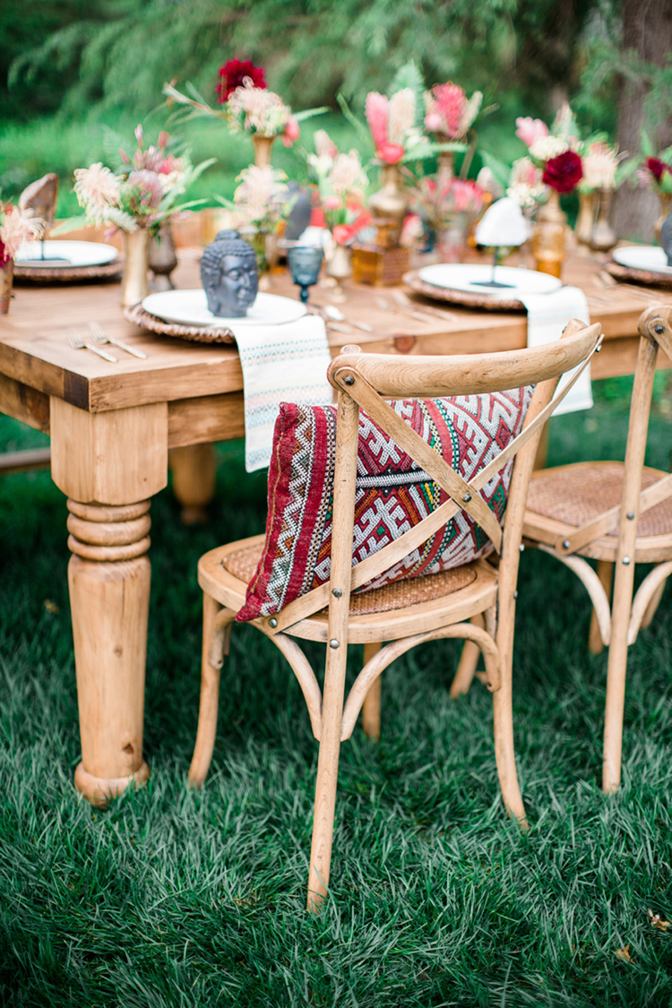 eclectic wedding ideas inspiredwanderlust | ruffled