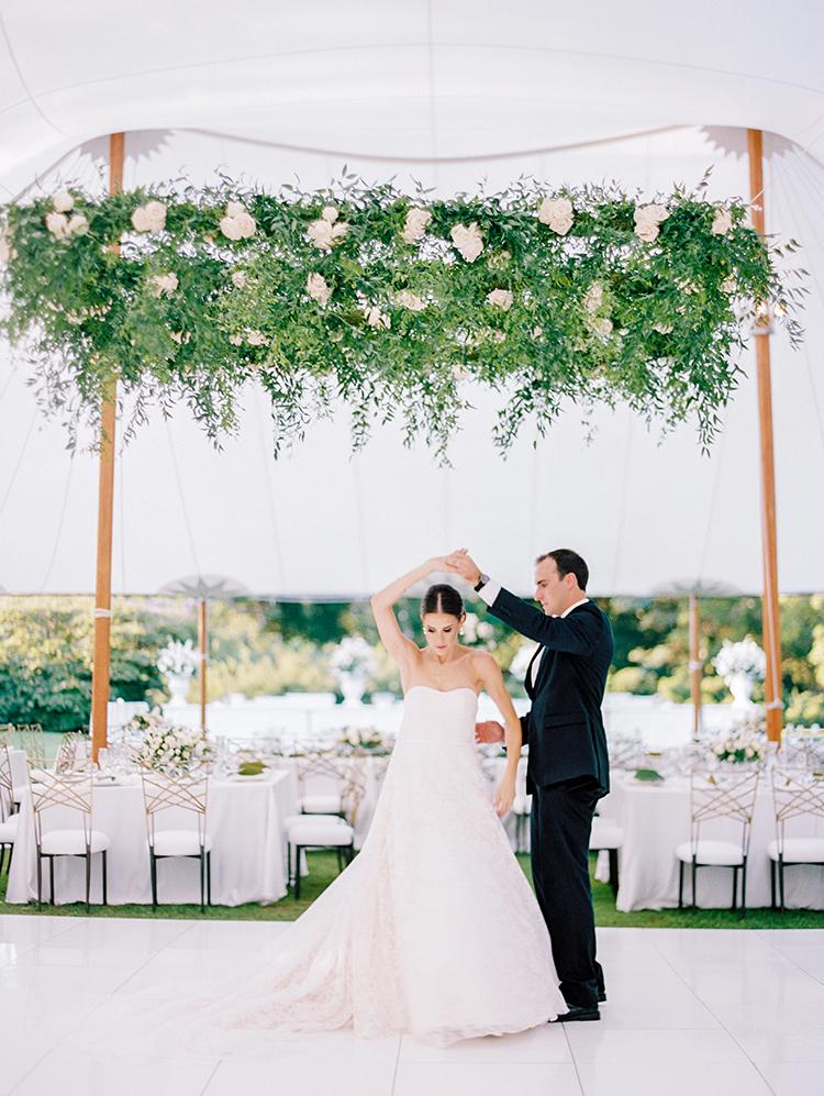 Elegant Annapolis Wedding with Romantic Greenery - photo by Love by Serena https://ruffledblog.com/elegant-annapolis-wedding-with-romantic-greenery