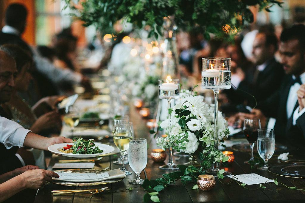 wedding decor - photo by Melia Lucida http://ruffledblog.com/elegant-canadian-wedding-with-greenery