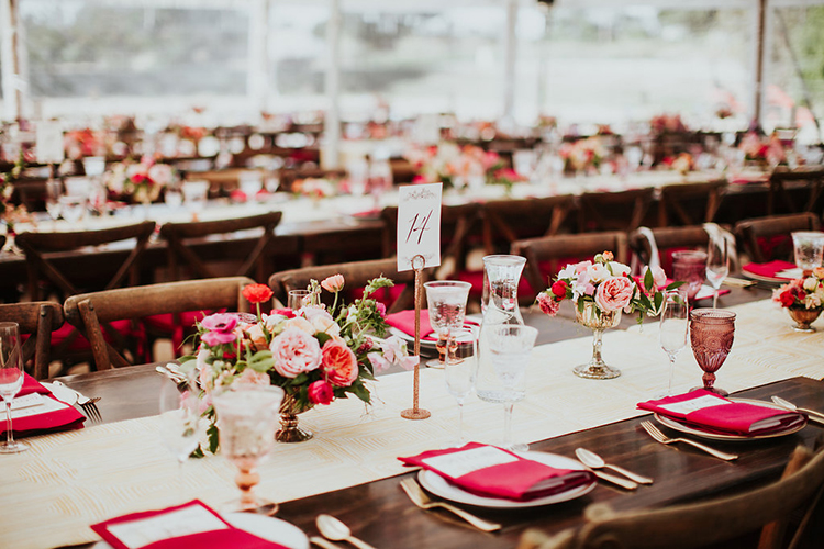 romantic tablescapes - photo by Alexandra Wallace https://ruffledblog.com/elegant-san-luis-obispo-garden-party-wedding