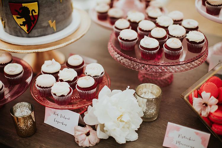 dessert tables - photo by Alexandra Wallace https://ruffledblog.com/elegant-san-luis-obispo-garden-party-wedding
