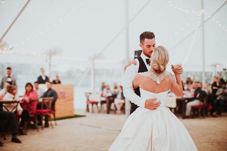 wedding dances - photo by Alexandra Wallace https://ruffledblog.com/elegant-san-luis-obispo-garden-party-wedding