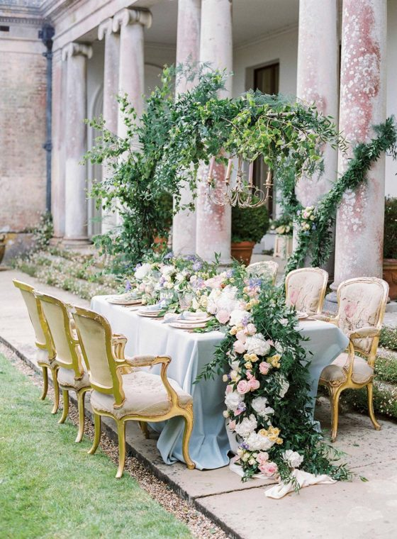 Quintessentially English Countryside Wedding Inspiration with Blooming Art