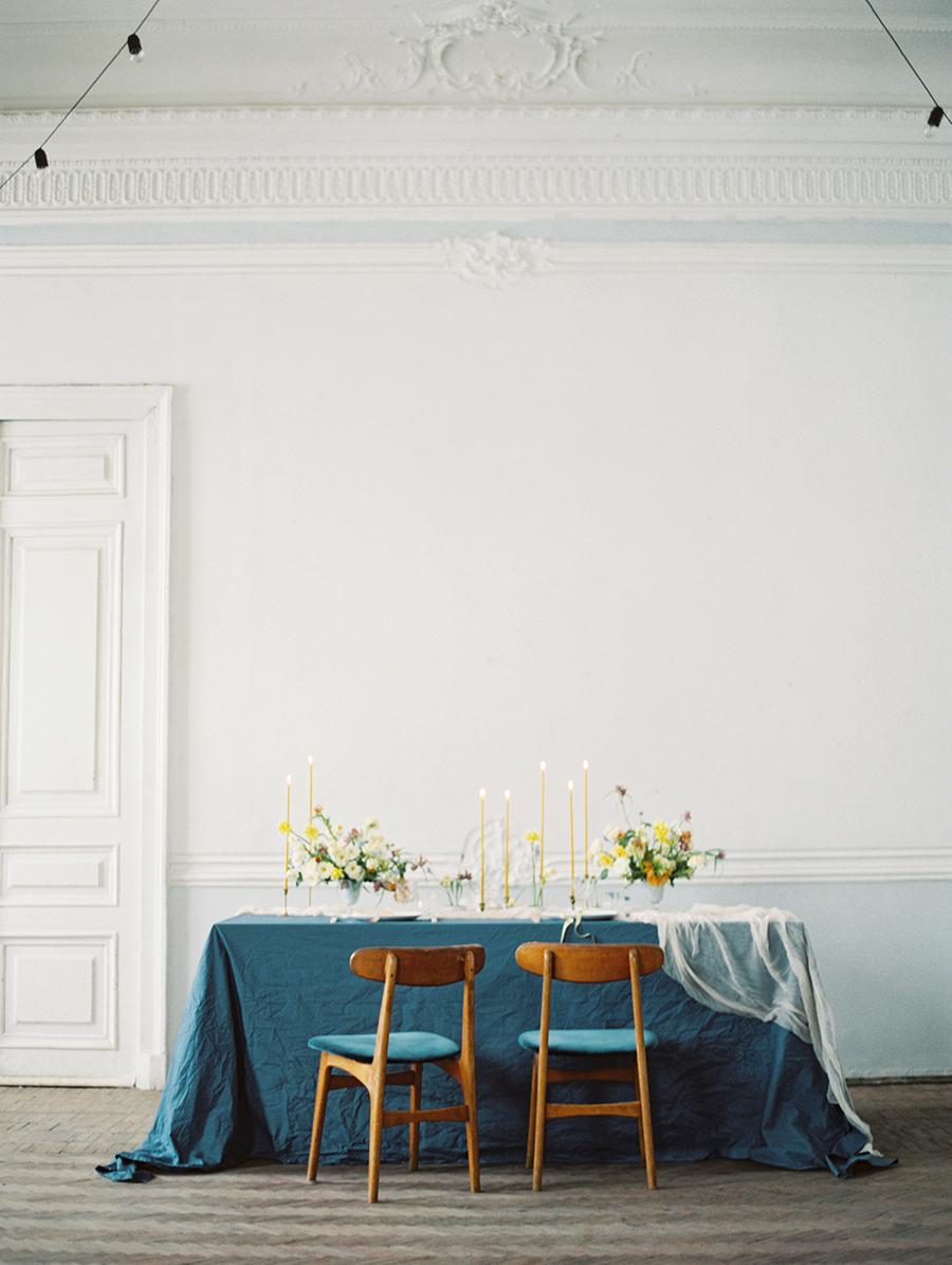 organic wedding inspiration - photo by Igor Kovchegin Photography http://ruffledblog.com/ethereal-wedding-inspiration-with-teal-and-marigold