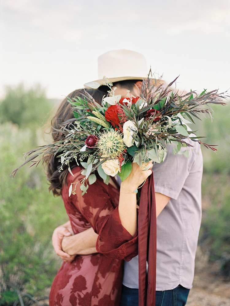 cute ideas for wedding pictures - https://ruffledblog.com/fall-desert-elopement-inspiration-with-burgundy-and-lavender