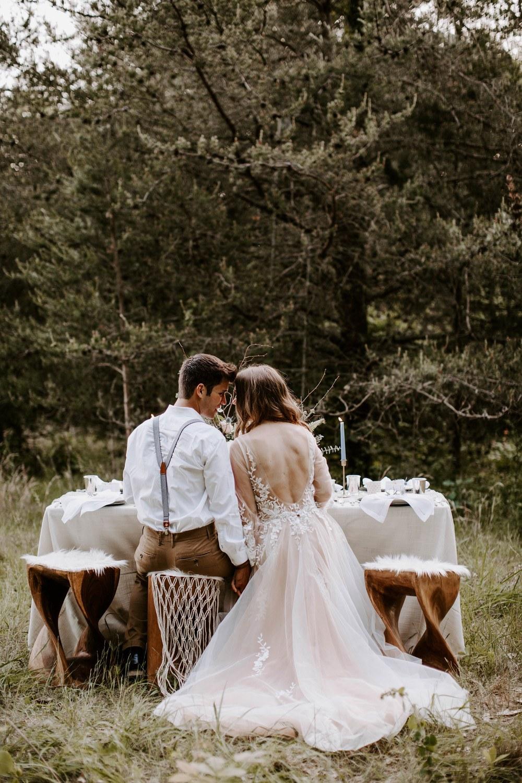 Fall Woodland Wedding 013